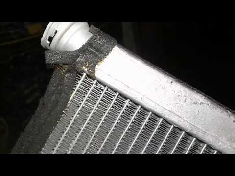 Мойка радиатора печки Тойота камри