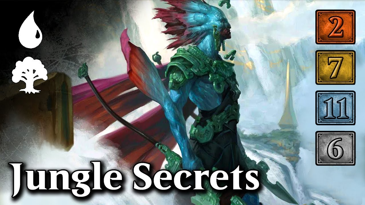 MTG Arena - Upgrading Jungle Secrets