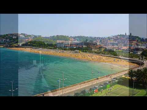 Places To See In ( San Sebastian - Spain ) Ondarreta Beach
