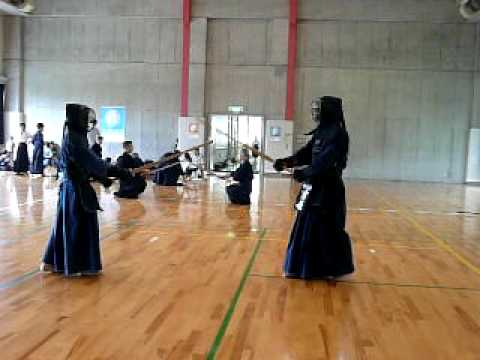 高校剣士 vs CREDGE剣士 1