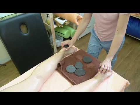 Криомарафон #1. Массаж горячими камнями | Hot stone massage