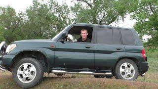 Самый редкий Mitsubishi Pajero Pinin в России!! Тест-драйв.