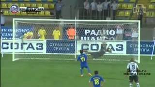 ростов-Краснодар 0:2 Обзор матча 17.08.2014