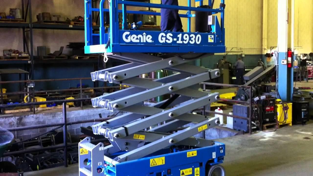 New Genie Scissor Lift, Model GS1930 - not used - brand new