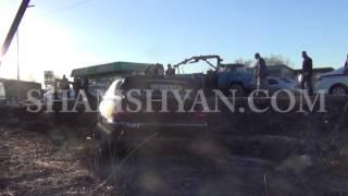 Արարատի մարզում Mercedes ով վրաերթի են ենթարկվել դպրոցի տնօրենն ու հետիոտնը  2 ը տեղում մահացել են