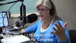 Jackie Paige 1270 AM WXYT with Don Volaric for Congress