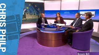 Chris Philp - BBC Daily Politics - Brexit Withdrawal Bill