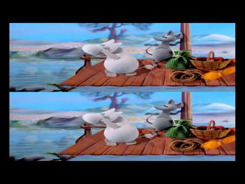 Moomins and the Comet Chase 3D trailer