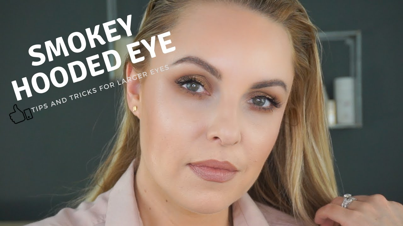 Gold Bronze Smokey Eye For Hooded Deep Set Eyes Elle Leary Reliance Pomade Artistry