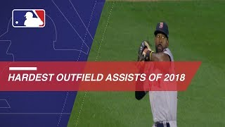 2018's Hardest Outfield Assists