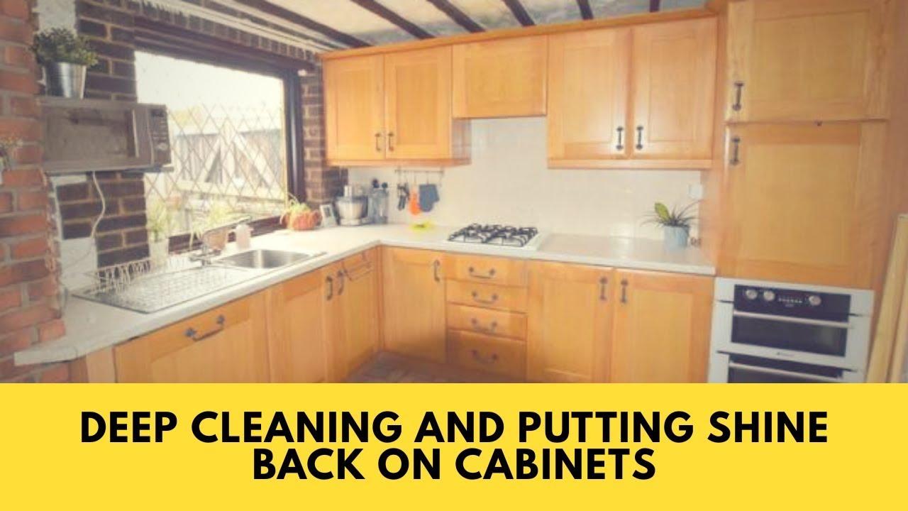 Shine Back On Kitchen Cabinets