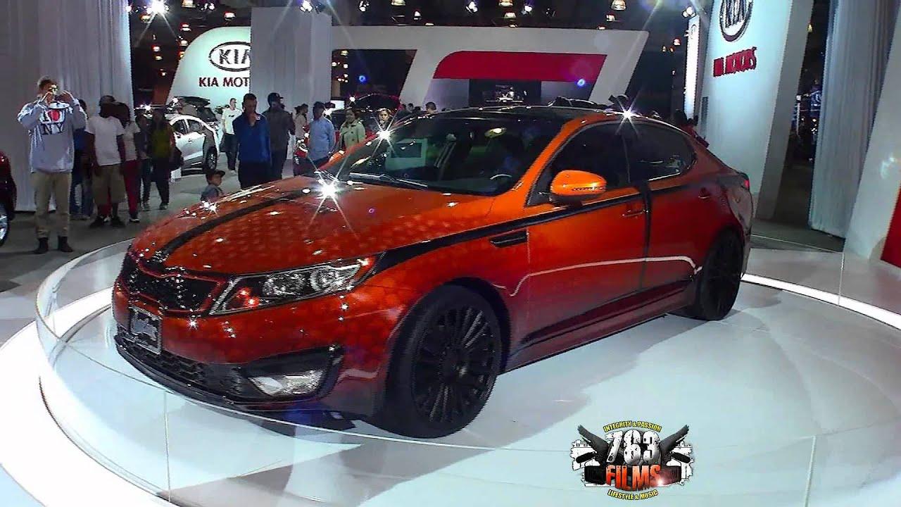 Kia Optima By West Coast Customs 2013 Car Show Jacob