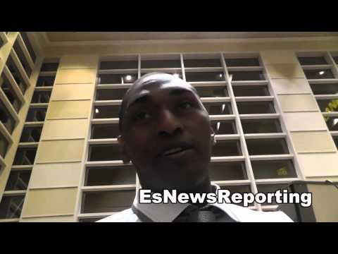 metta world peace on lakers and mayweather
