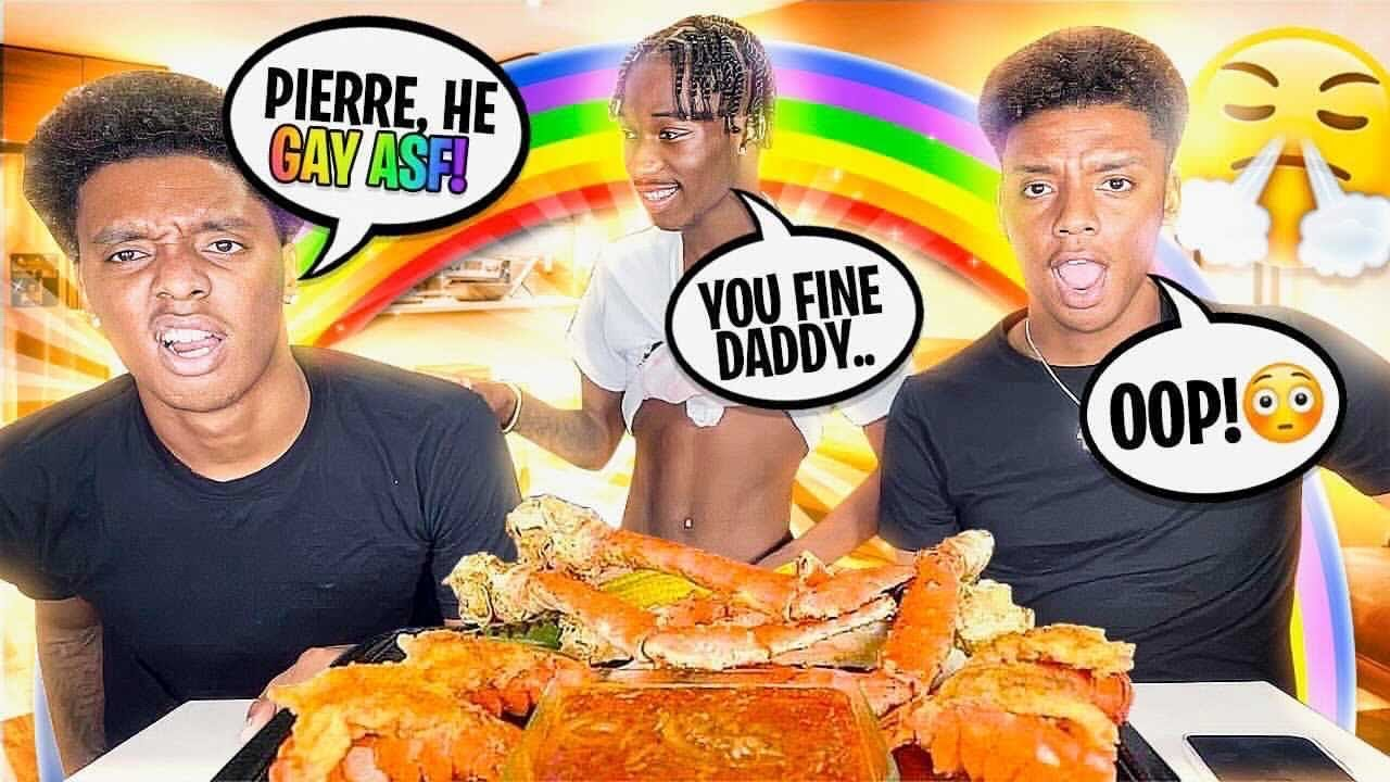 Having My Gay BESTFRIEND Flirt With My Straight Brother 😈 *HE SNAPPED*   SeaFoodBoil