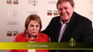 Jeunesse Global, Wendy Lewis wins a Stevie  Award in the 2014 Stevie Awards for Women in Business