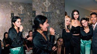 Selena Gomez on the JLo's show in Las Vegas, Nevada - September 22