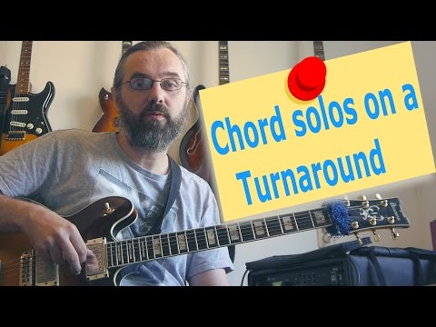 Chord Soloing on a Turnaround