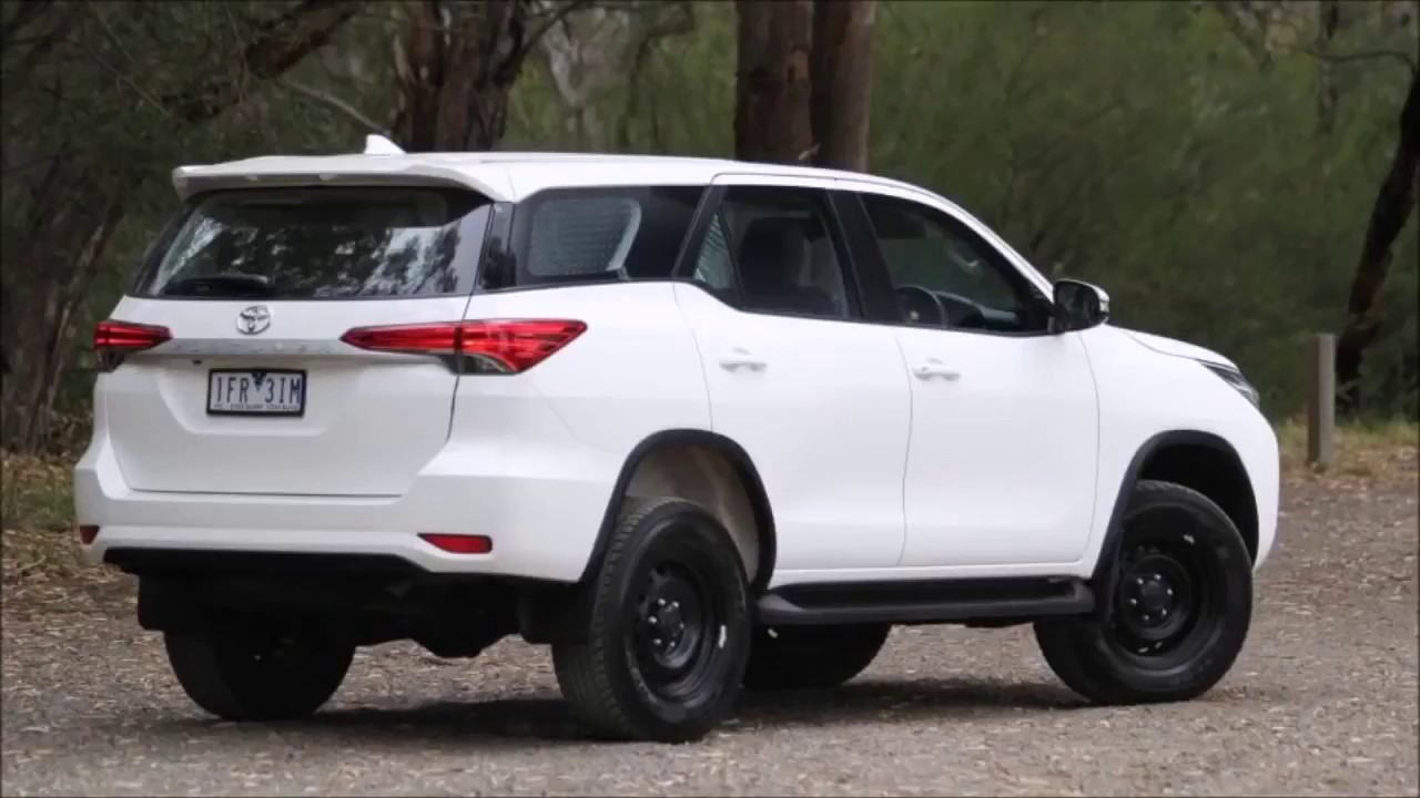2017 Toyota Fortuner Interior Exterior And Drive Best Toyota Suv In The Class Youtube