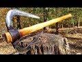 Forging a Battle Axe from a pick axe