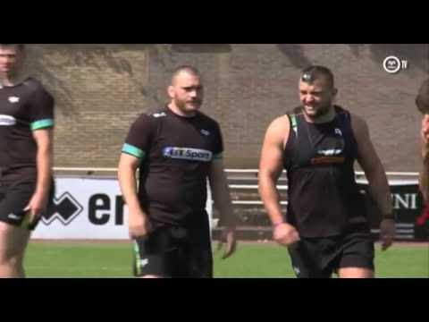 Ospreys TV in Belgium: Hugh Gustafson interview