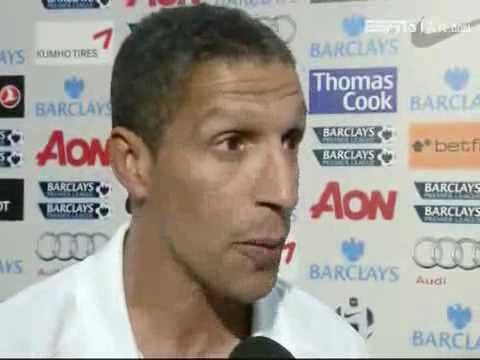 Manchester United vs Newcastle United 3-0 - Chris Hughton (16-08-10)