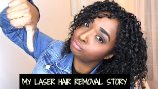 dont do laser hair removal my story regrets pcos   chanelli