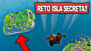 *NEW* GO AND RETURN CHALLENGE FROM SECRET ISLAND! - FORTNITE: Battle Royale Zoko