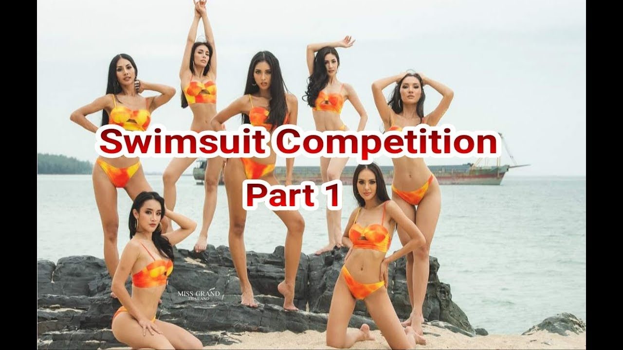 Miss Grand Thailand 2019 : Swimsuit Competition Part 1#MissGrandThailand#MissGrandThailand2019