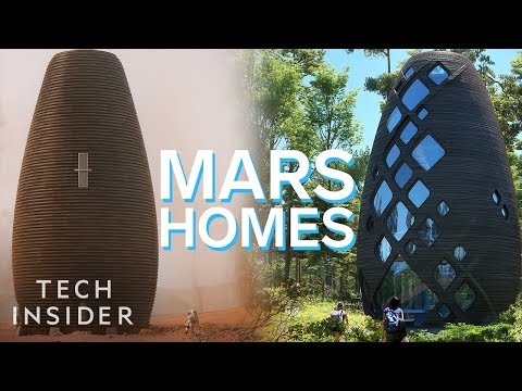 Maddox - The Mars Homes That NASA Might Have You Live In!