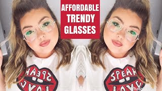 WHERE I BUY CHEAP & FASHIONABLE GLASSES | Learning to be Fearless