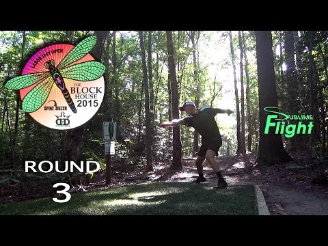 Blockhouse Round 3 Labor Day Open 2015 Disc Golf Tournament