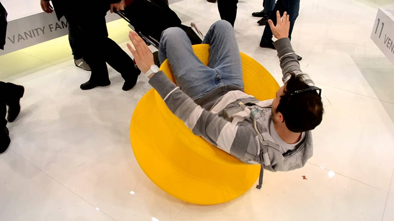 Spinning on the Spun Chair
