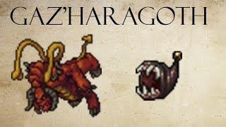 tibia como matar o gazharagoth menera