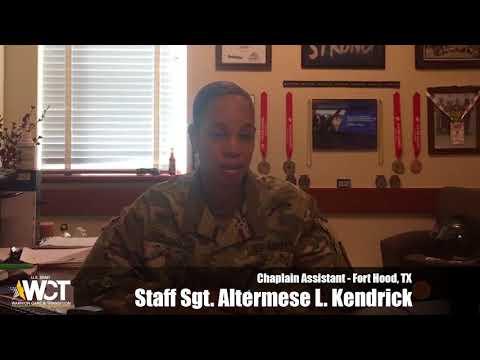 """My Why"" - Staff Sgt. Altermese L. Kendrick"