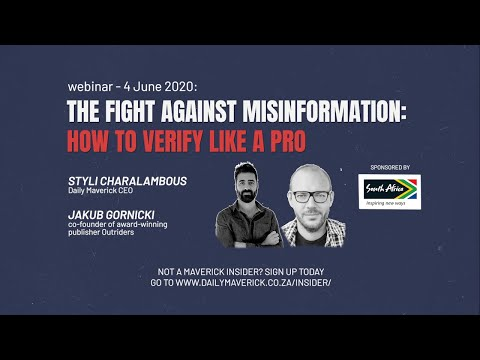 The Fight Against Misinformation: How To Verify Like A Pro