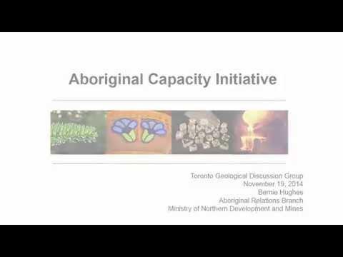 TGDG Presents: Government for consultation in Aboriginal capacity initiatives in Ontario (6 of 7)