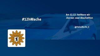 Polizei Twitter-Aktion 12h