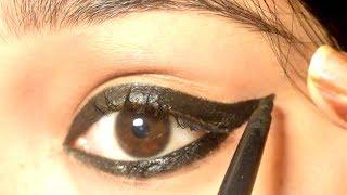 6 Different Kajal looks Using Lakme Eyeconic Kajal