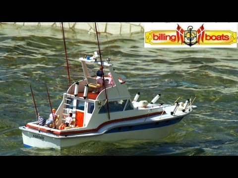 Cvp billing boats blue star rc fishing boat adelais by for Rc boat fishing