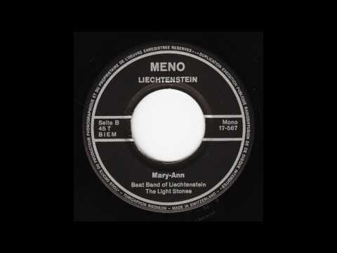 The Light Stones - Mary-Ann (Original 45 Swiss-Liechtenstein Psych Garage Beat)