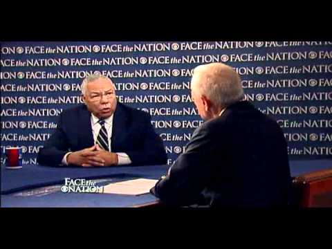 Face The Nation-Colin Powell responds to Dick Cheney