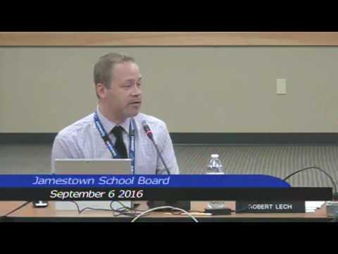 Jamestown Public Schools September 6, 2016