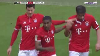 أهداف مباراة بايرن ميونخ3\0 وآينتراخت فرانكفورت  الدوري الالمانيHD