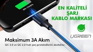 EN KALİTELİ ŞARJ KABLO MARKASI - Ugreen Type-C Şarj ve Data Kablosu 25CM