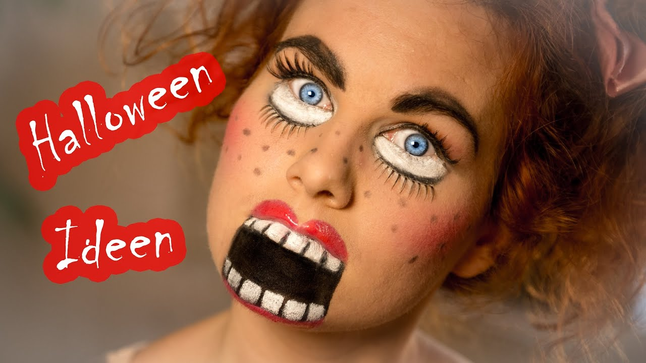 super easy halloween makeup s trailer youtube. Black Bedroom Furniture Sets. Home Design Ideas