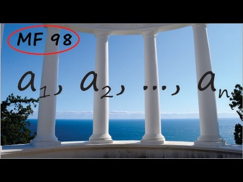 MathFoundations98: What exactly is a sequence?