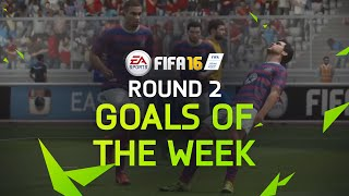 FIFA 16 - Best Goals of the Week - Round 2