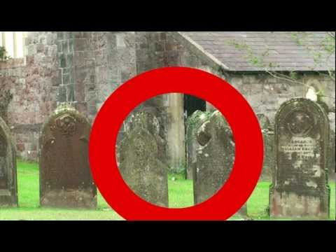 Graveyard Ghost Caught on Tape. Paranormal Entity Filmed in Cemetery poster
