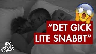 Joel och Jossan myser till det andra kvällen - Ex on the Beach Sverige