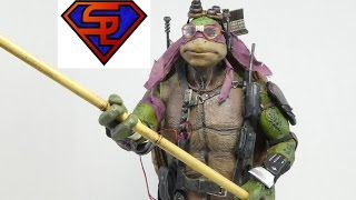 Teenage Mutant Ninja Turtles 2014 Threezero Donatello 1/6 Scale Collectible Movie Figure Review